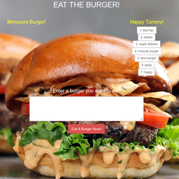 Image of Eat the Burger